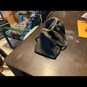 Fendi Bags - Black Fendi Boston Bag